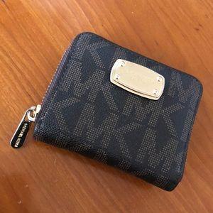 Authetic Brown & Gold MK wallet